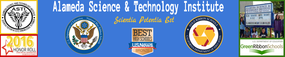 Alameda Science and Technology Institute  Logo